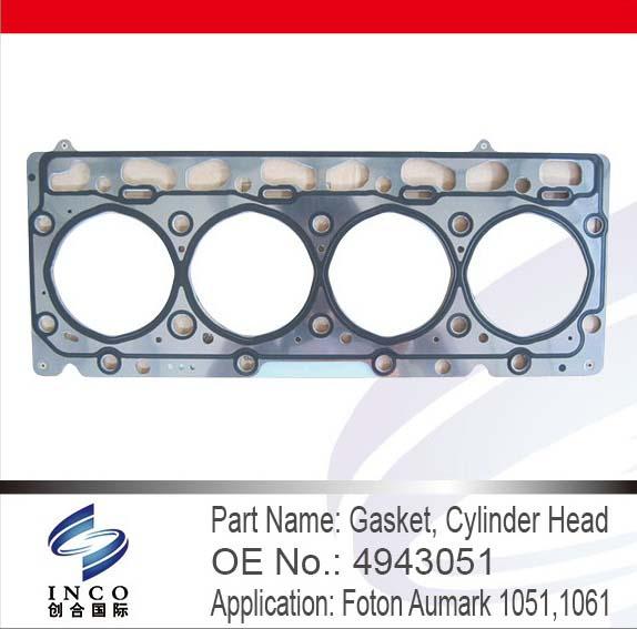 Gasket, Cylinder Head 4943051
