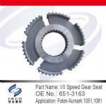I/II Speed Gear Seat 651-3163