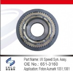 I/II Speed Syn.Assy. 651-3160